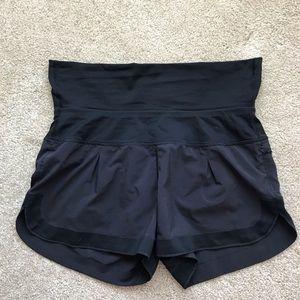 EUC black Lululemon shorts, size 6